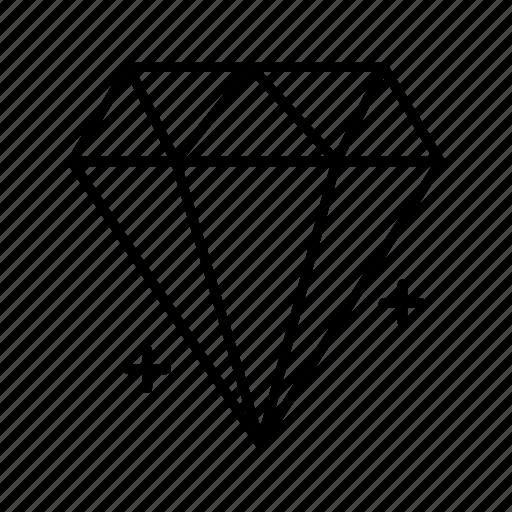 Diamond, ecommerce, jewel, jewelry icon - Download on Iconfinder