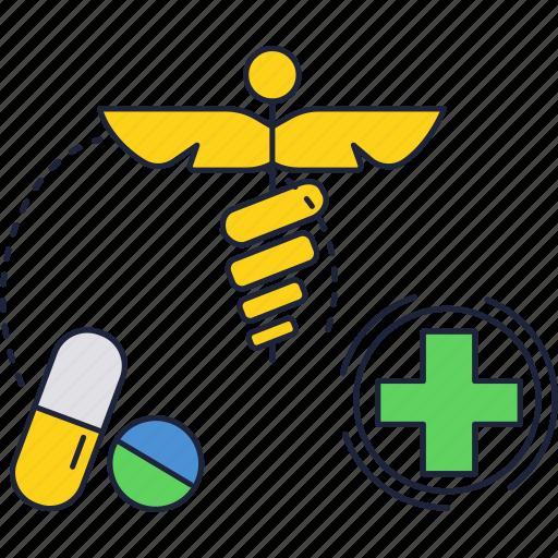 drug, medicine, pharmacy, sign, store icon