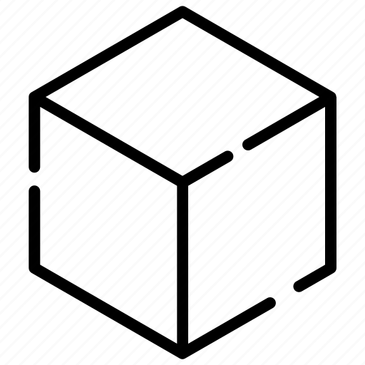 cardboard, commerce, goods, items, package, shopping icon