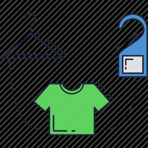 hang, shopping, tag, tshirt icon