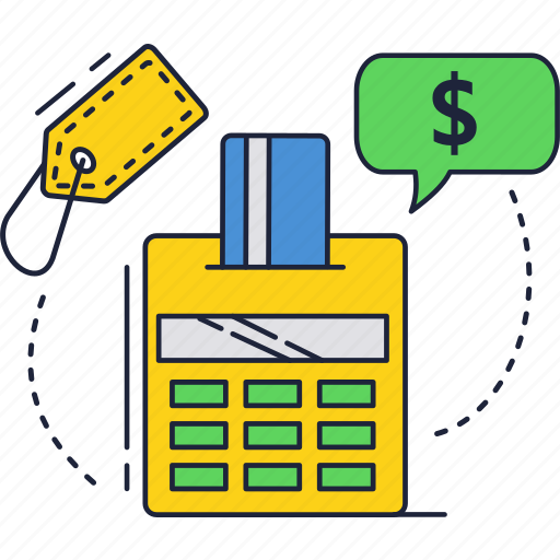 buy, card, credit, dollar, online, payment, terminal icon