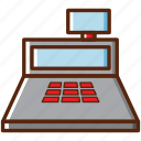 bottom, card, cash, cashier, money, payment icon