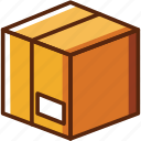 box, delivery, packaging icon