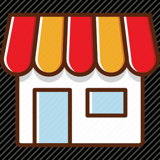 build, coffeeshop, market, shop, toko icon