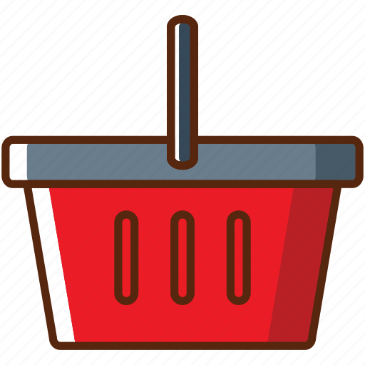 bucket, online, payment, shop icon