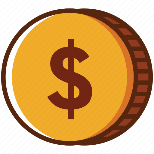 coin, dollar, money, payment icon