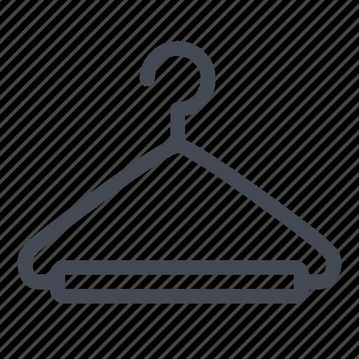 clothes hanger, coat hanger, dressmaker, hanger, tailor icon