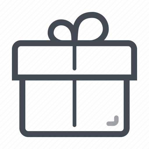 bonus, box, gift, parcel, present icon