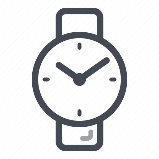 smart watch, time, wrist watch icon