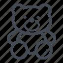 bear, cuddle, teddy bear, toy