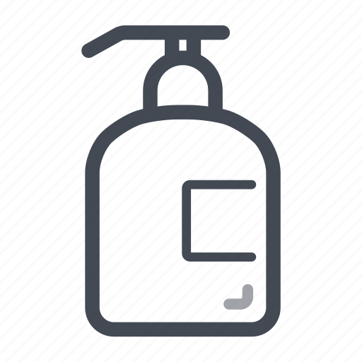 cleaning, cosmetic, gel, hand, soap dispenser, washing icon