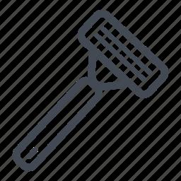cosmetic, razor, razor blade, shave, shaving, shaving razor icon