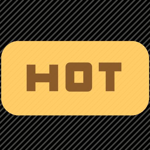 box, hot, product, temperature icon