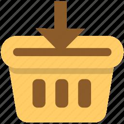 add to cart, basket, buy, cart, market, sale, shopping icon