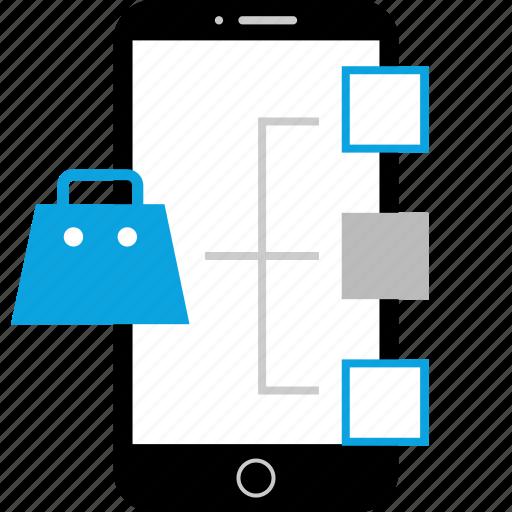 amazon, analytics, shopping, web icon