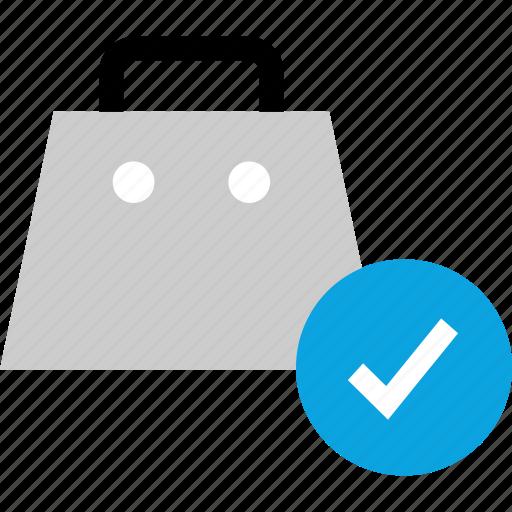 cart, checkmark, ok, shopping icon