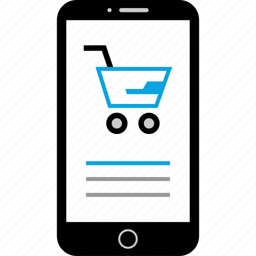 Cart, device, mobile, shopping icon - Download on Iconfinder