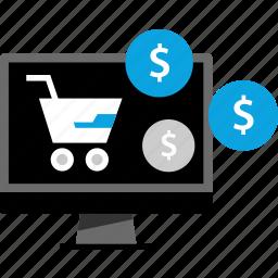 online, shop, shopping, web icon