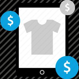 amazon, device, shopping, tablet icon