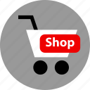 cart, ecommerce, online, shop, shopping icon