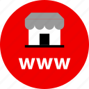 ecommerce, online, shop, shopping, store, www icon