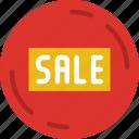 badge, buy, ecommerce, money, sale, shopping icon