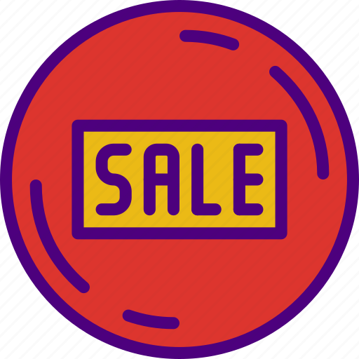 badge, buy, ecommerce, money, sale, shopping icon