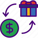 barter, buy, ecommerce, money, shopping icon
