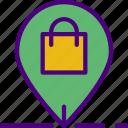 bag, buy, ecommerce, money, pin, shopping
