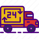 buy, delivery, ecommerce, money, shopping, truck icon