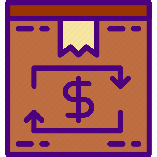 box, buy, delivery, ecommerce, money, shopping icon