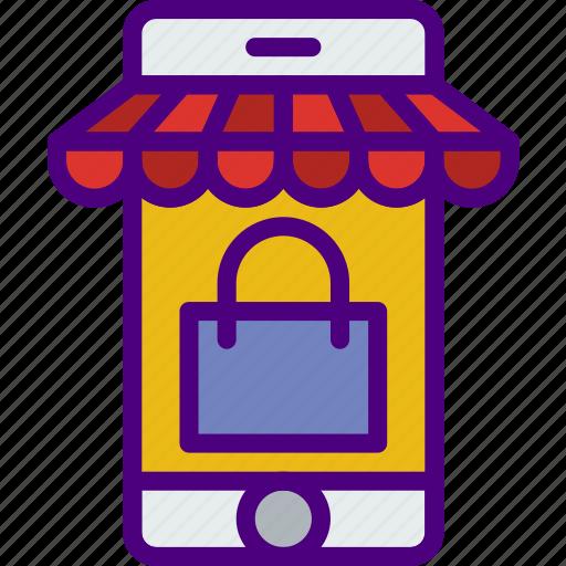 buy, ecommerce, mobile, money, shopping icon
