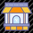 boutique, building, cottage, home, house, shop, store icon