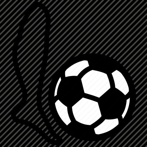 ball, beat, football, goal, soccer, sport, strike icon