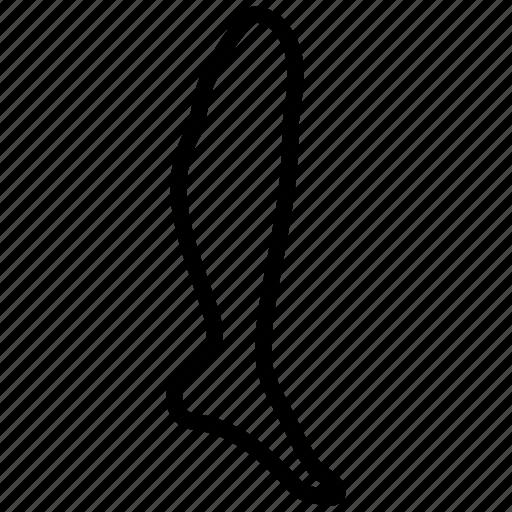 Leg, foot, heel, ream, shank, shin, track icon - Download on Iconfinder