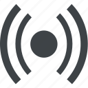signal, sound, audio, music, wifi icon