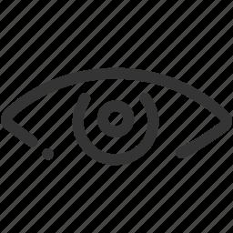 eye, seo, significon, view, visibility icon icon