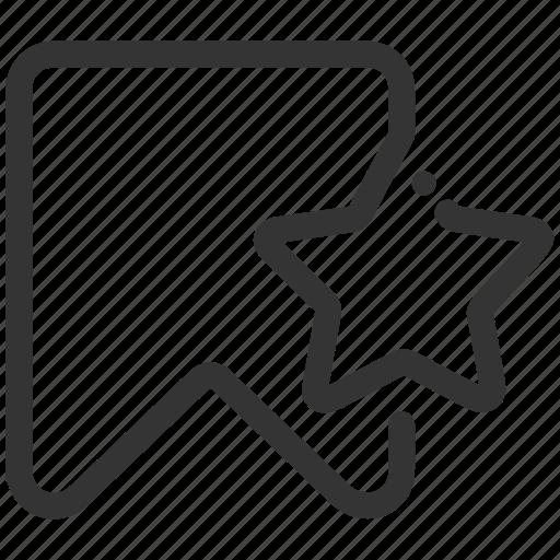 bookmark, favorite, like, seo, significon icon