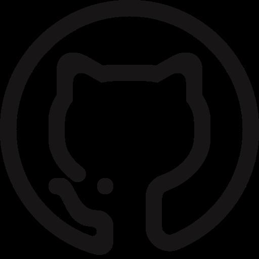 fork, github, mark, octocat icon