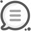 communication, connectivity, humans, people, send, social, think text icon