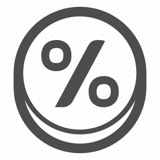 calculator, maths, percentage icon