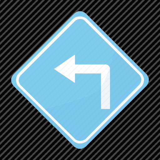 curv, dangerous, pronounced, road, sign, traffic icon