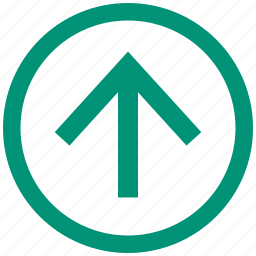 arrow, control, player, top, up icon