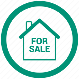 home, house, sale icon