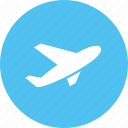 aircraft, aviation, ticket, traveling, vehicle icon