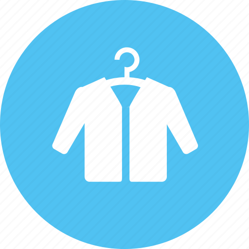 clothes, coat, hanger, jacket icon
