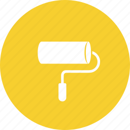 brush, decorate, paint, renovation icon