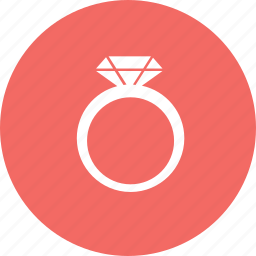 diamonds, love, marry, ring icon
