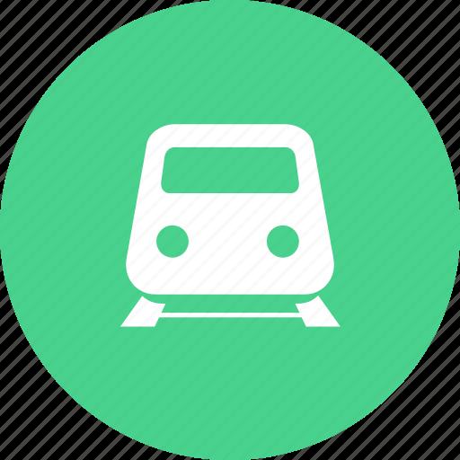 railway, subway, train, vehicle icon