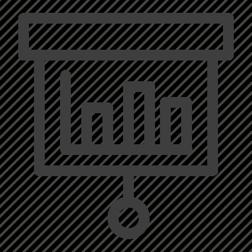 analysis, chart, data, report, statistics icon